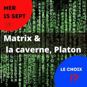 Matrix ou la caverne de Platon